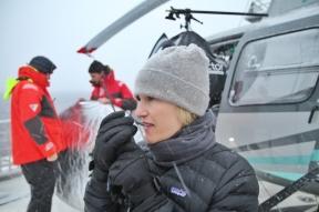 Jennifer Hile - Helicopter Ops, Antarctica