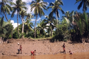 Jennifer Hile - Agats Village, Papua New Guinea