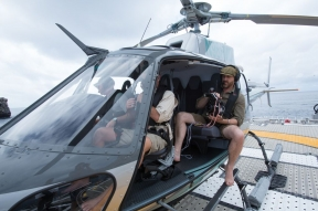 Jennifer Hile - Aerial Shoot, Galapagos